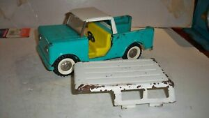 Vintage Structo IH Scout W/ Both Roofs pressed steel toy truck