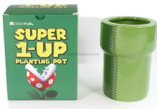 GEEKFUEL - SUPER 1-UP PIRANHA PLANTING POT - Super Mario Bros - New In Box