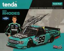 Autographed 2020 Ben Rhodes #99 Tenda Heal Postcard