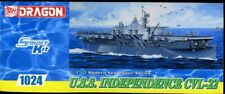 Dragon 1024 1/350 Scale - Plastic Kit of the USS Independence CVL-22 new