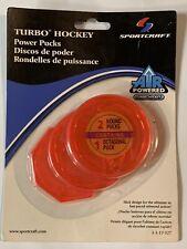 Sportcraft Turbo Hockey Power Pucks-2 Round, 1 Octagonal-# 1-1-17-327-NEW