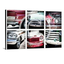 """Large Wall Art Canvas Picture Print Classic Car Truck Ford Chervrolet Buick 46"""""""
