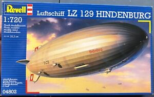Revell Luftschiff LZ 129 Hindenburg 1/720 NIB Model Kit 'Sullys Hobbies''