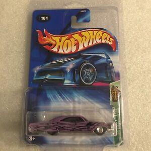 Hot Wheels 2004 Treasure Hunt Pontiac Bonneville 1965 New On Card B142