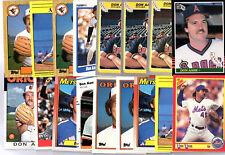 Don Aase 17 Card Lot