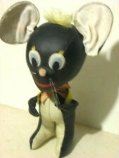 """New listing Vintage Jay Bee Joseph Boyer Company Stuffed Mouse Toy 13"""" tall Japan."""