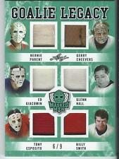 2017 Leaf Masked Men Legacy 6 Jersey PARENT CHEEVERS HALL ESPOSITO SMITH ++ 6/9