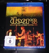 THE DOORS LIVE AT THE ISLE OF WIGHT FESTIVAL 1970 BLU RAY NEU & OVP