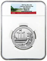 2019 American Memorial Park 5 oz Silver ATB Beautiful NGC MS69 DPL ER SKU57704