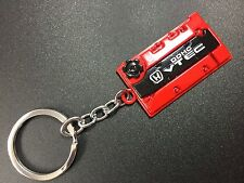 Engine Valve Cover Keychain For HONDA Keyring JDM style DOHC VTEC Red