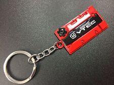 Engine Valve Cover Keychain For HONDA Keyring JDM style DOHC VTEC Red