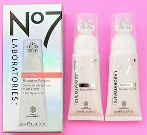 Boots No7 Laboratories Firming Booster Serum 30ml Clinically Proven 2 x 30ml