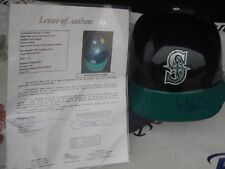 Ichiro Suzuki signed Seattle Mariners full size authentic helmet JSA LOA COA