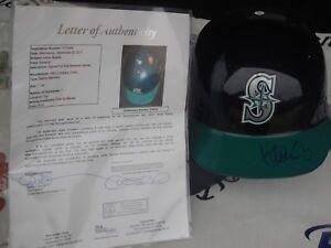 Ichiro Suzuki signed Seattle Mariners full size authentic helmet JSA LOA COA