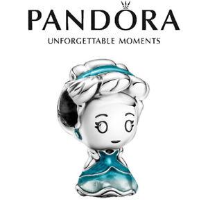 2021 New Disney Princess Cinderella PANDORA S925 ALE Dangle Charm Authentic Bead