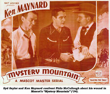 Mystery Mountain - Classic Cliffhanger Serial Movie DVD Ken Maynard