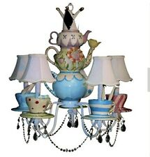 Alice In Wonderland Chandelier - Mad Hatter Light - Alice In Wonderland Decor
