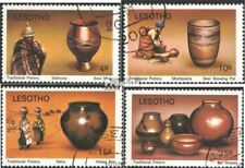 lesotho 308-311 (complete issue) used 1980 Traditional Töpferwa