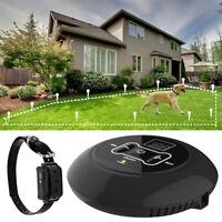 Collar de Adiestramiento control oculto de cerca de perro eléctrico inalámbrico