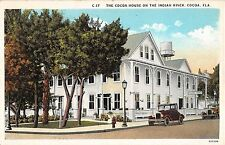 1920's Early Cars Cocoa House Cocoa FL post card
