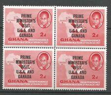 GHANA Bloc de 4   YT n° 25 neuf ★★ Luxe 1958 / MNH