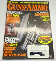 Guns & Ammo Magazine July 1995 Back Issue Pocket Pistol Shootout