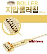 Acupuncture Acupressure Skin Massage No Pain Stimulation Roller Tool Gold Silver