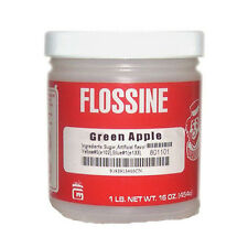 Gold Medal Products Green Apple 1 Pound Jar of Flossine
