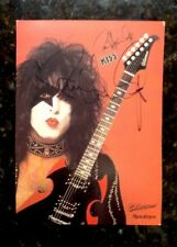 KISS ** SIGNED  ** Paul Stanley **  Autographed LOOK Rare   Not Aucoin