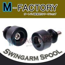 Fit Suzuki GSX R600 R750 R1000 K1 K4 K5 K6 K7 K8 BLK Spools Delrin Sliders