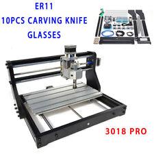 3018 3axe CNC Router Laser Engraving Kit Graveur Bois machine fraiseuse Route