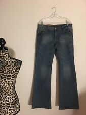 Junior girls awesome jean pants Nina Rossi Jean Company size 15 color blue NEW