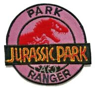 Large Jurassic Park Ranger  Embroidered Logo Patch Badge Iron On / Sew On