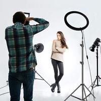 LED Dimmbar Ringlicht Ringleuchte Studiolicht für Live YouTube Makeup +