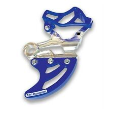 TM Designworks Blue Rear Disc Guard Kit Yamaha 07-19 YZ WR 250F 450F RDP-YZM-BU
