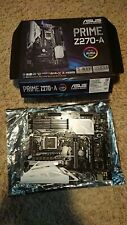ASUS PRIME Z270-A LGA 1151 Intel Z270 HDMI SATA 6Gb/s USB 3.1 ATX Motherboard