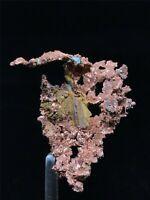 8g Precious Rough NATIVE COPPER Crystal Mineral Specimen from Morocco