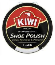 Kiwi Shoe Polish Black Brown Neutral 50ml Tin Boot Shiner Nourishes Protector