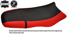 BLACK & RED CUSTOM FITS SEA DOO GSX GS RFI 96-04 VINYL SEAT COVER + STRAP