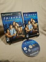 Friends: The One With All the Trivia (Sony PlayStation 2, 2005) PS2 CIB & TESTED