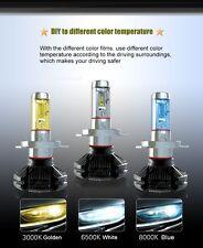 KIT x 3  LED H4 6000K PHILIPS 5S 6000LM A BULBO  HEAD LIGHT 12V-24V