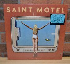 SAINT MOTEL - Saintmotelevision, 1st Press BLACK VINYL LP + Download NEW!