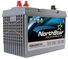 NORTHSTAR Pure Lead Marine Group 31M Battery NSB-AGM31M