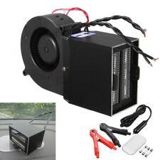 300/500W Car Heating Hot Dual Ceramic Heater Fan Windshield Defroster Warmer Set
