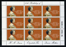 SAMOA QE II 1980 Queen Mother 80th Birthday Mini-Sheet SG 572 MNH