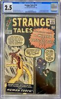 STRANGE TALES #110 CGC 2.5 - 1ST APPEARANCE DOCTOR STRANGE 1963 ANCIENT ONE KEY