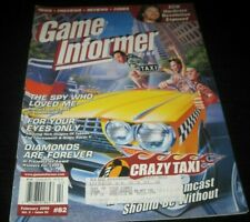 Vintage Game Informer Magazine Nintendo PS Nes Sega video games 2000 issue 82