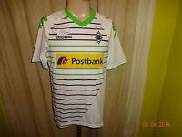 """Borussia Mönchengladbach Original Kappa Heim Trikot 2013/14 """"Postbank"""" Gr.M TOP"""
