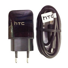 Original HTC 1.5A Rapid AC Charger EU Adapter & Cable For HTC One M9 M8 M7