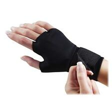 Dome Support Gloves w/ Wrist Strap Adjustable Medium Black 3734